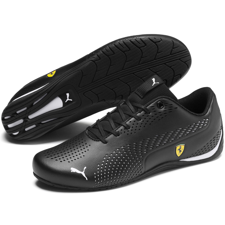Details about PUMA Ferrari Drift Cat 5 Ultra Men's Shoes Casual Sneakers  Black