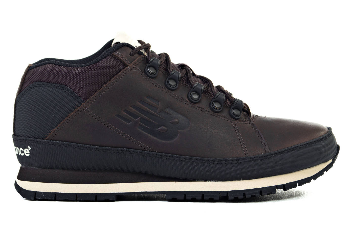 New Balance NB 754 Men's Winter Boots Hiking Shoes Leather Brown ...